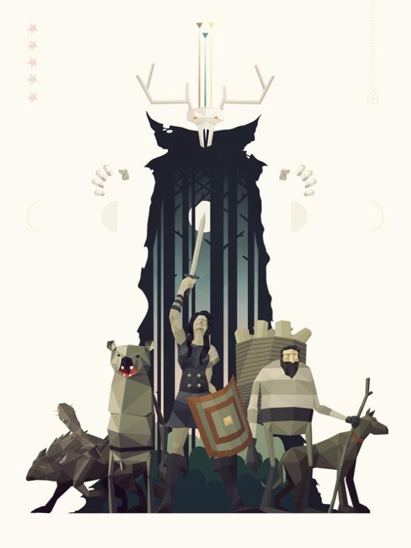 Sword & Sworcery Concept Art